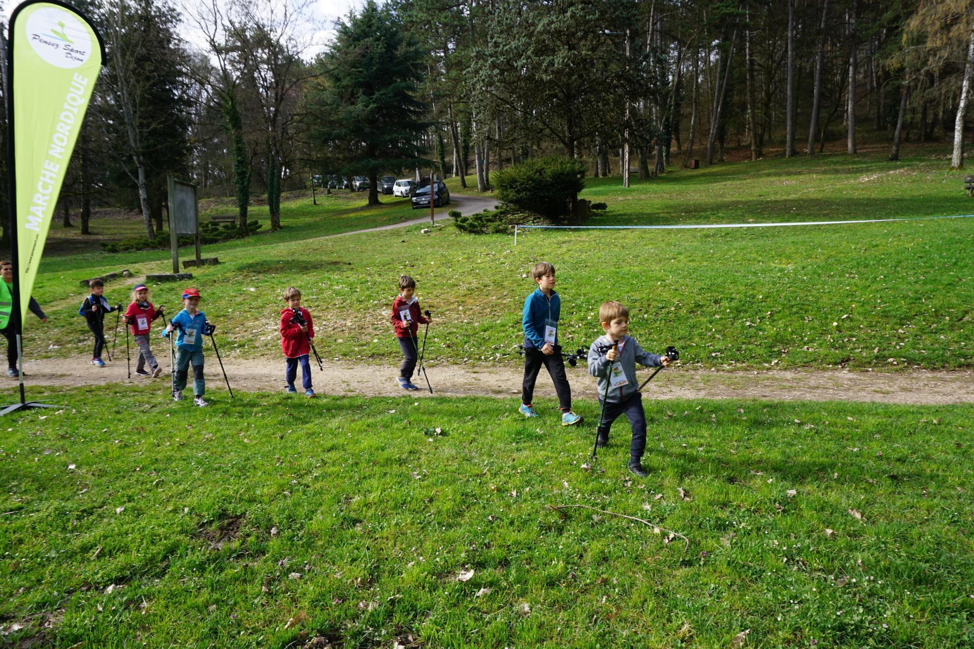 Le groupe d'enfants